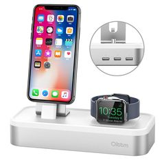 This itemis an excellent 4 in 1 charging stand which is designed especially for Apple Watch, AirPods, iPhone and iPad charging . It will add a touch of class into your living space or bedroom AND keep your essential devices all in one place making them easier to find! Our Guarantee: Office Gadgets, Cool Tech Gadgets, Gadgets And Gizmos, Latest Gadgets, Entertainment Room, All In One, Apple Watch, Smartphone, Ipad