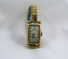 b6aef051f9dfe Very Rare Vintage Bulova 1940 Admiral wrist by AuntDarlenesAttic