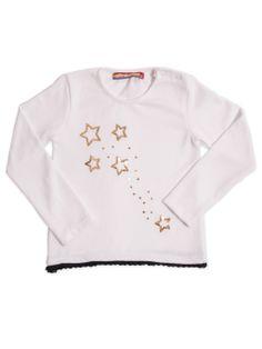 Buzo estrellas marfil