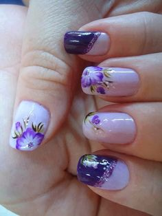 Stylish Nail Art Designs Collection 2014 - http://yournailart.com/stylish-nail-art-designs-collection-2014-6/ - #nails #nail_art #nail_design #nail_polish