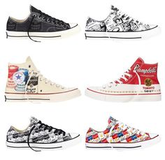 888293a5a05d Converse Andy Warhol Converse Chuck Taylor All Star