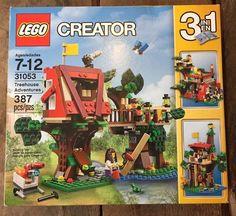 LEGO Creator Treehouse Adventure 31053 Factory BID Now 5 Day Auction Nr for sale online Lego Creator Sets, The Creator, Lego Mini, Boutique Lego, Modele Lego, Lego Instructions, Lego Pieces, Lego Brick, Toys