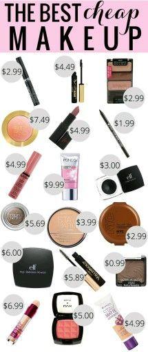 Maquillaje barato y de buena calidad