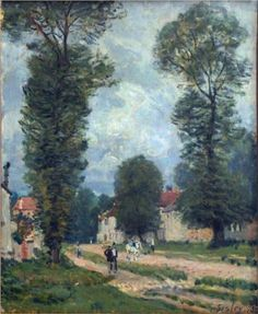 Route to Versailles - Alfred Sisley