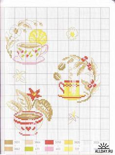 Enginger V. - Chocolat, The, Cafe (Гурманская вышивка)