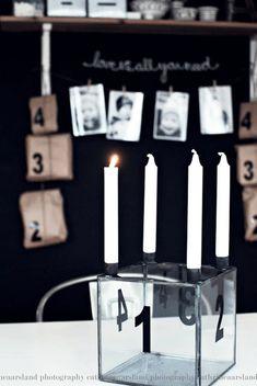 Christmas Inspiration from Cathrine Aarsland - Nordic Design Nordic Christmas, Noel Christmas, Modern Christmas, Christmas Fashion, Vintage Christmas, Christmas Stuff, Christmas Ideas, Photo Arrangement, Advent Wreath