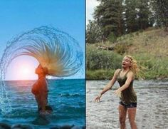 Funny pictures about Water Hair Flip. Oh, and cool pics about Water Hair Flip. Also, Water Hair Flip. Summer Pinterest, Pinterest Fails, Pinterest Photos, Pinterest Crafts, Pinterest Projects, Pinterest Blog, Pinterest Recipes, Water Hair Flip, Humor Cristiano