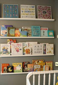 Love the shelf idea