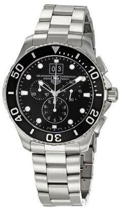 TAG Heuer Men's CAN1010BA0821 Aquaracer Chronograph Watch from TAG Heuer @ TAG-Heuer-Watches .com