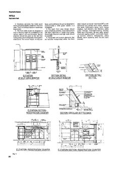 Time Saver Standards For Interior Design Hotel Ergnonomics Pinterest