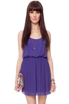 cami blouson dress
