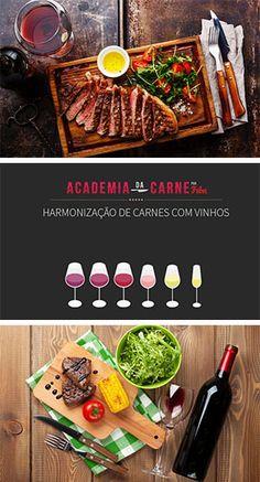 Harmonização de Carnes e Vinhos por Academia da carne Friboi