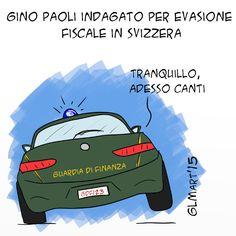 #satira #GinoPaoli #IoSeguoItalianComics