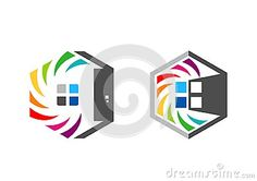 House real estate logo symbol icon, rainbow hexagon home logo, set of rainbow colorize building symbol icon vector design #house #realestate #logo #symbol #icon #rainbow #hexagon #home #logotype #set #colorize #building #vector https://www.dreamstime.com/stock-photography-image96529238#res7049373 #apartment #real #estate #build #door #windows #square #place #palace #object #graphic #illustration #stock #concept #architecture #architect #art #ideas