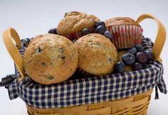 Muffins au yogourt et aux bleuets