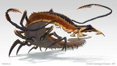 Metterix - creature design by Cloister.deviantart.com on @DeviantArt