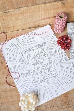 Printable coloring book pages.