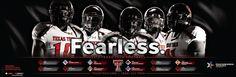 2013 Texas Tech Football Defense Poster