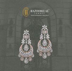 New Embroidery Hoop Necklace Ideas 69 Ideas Diamond Bangle, Diamond Jewelry, Gold Jewelry, Big Earrings, Bridal Earrings, Ear Jewelry, Men's Jewellery, Designer Jewellery, Pendant Jewelry