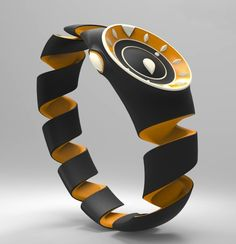 Meet the Nike Citrus watch that instantly grabs your attention with its striking orange-peel curl band and a feel-it dial. Designed for the visually challenged, the watch not only assists in getting to know the time with touch but also provides flexibility in putting it on without any hassle.