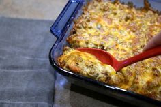 This Keto Cheesy Taco Casserole Recipe is perfect for keto and lchf diets because it is loaded with fat and low in carbs. Only 3 carbs and 37 grams of fat