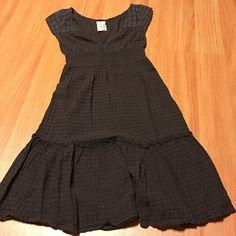 ♥️Flash Sale♥️ Free People Dress Cute brown dress size 6, but I think it runs smaller Free People Dresses Midi