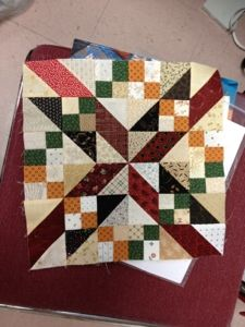 Midnight Flight block Quiltville's Quips & Snips!!  This looks fun...leave it to Bonnie Hunter! Another of her patterns on my list!