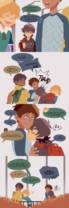Just some cute comic pictures of Klance None of these pictures are mine Credit to artists Voltron Klance, Voltron Force, Voltron Memes, Voltron Comics, Voltron Fanart, Form Voltron, Voltron Ships, Klance Comics, Cute Comics