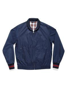 Fred Perry - Bomber Jacket - Indigo - $250.00