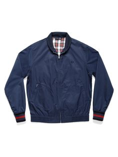 Fred Perry - Bomber Jacket - Indigo