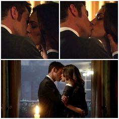 The Originals – TV Série - Elijah Mikaelson - Daniel Gillies - Hayley Marshall - Phoebe Tonkin - casal - couple - grávida - amor - love - kiss - beijo - embarazada - pregnant - 1x21 - The Battle Of New Orleans - A Batalha De Nova Orleans