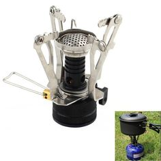 Portable Outdoor Camping Picnic Gas Stove Burner BRS6