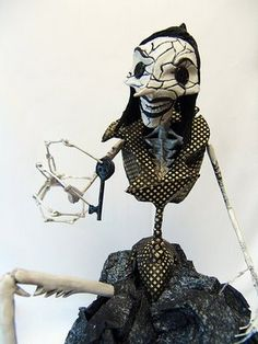 coraline other mother - spider version - they made this out of clay...the whole movie!