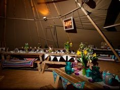 Pictures of Giant Hat Tipis