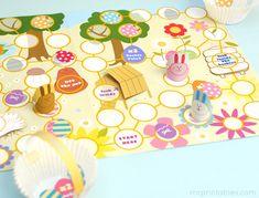 Free Printable Board Games   Easter Egg Hunt   Mr Printables