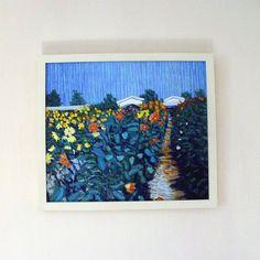 'garden of flowers' oil painting by indigoelephant | notonthehighstreet.com
