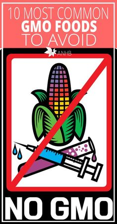 Top 10 Most Common GMO Foods to Avoid