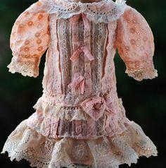 Cotton  & Lace dress