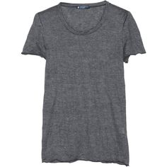 Petit Bateau T-Shirt Froissé Noir (16.415 CLP) ❤ liked on Polyvore featuring tops, t-shirts, shirts, tees, women, petit bateau, jersey tee, jersey shirts, jersey t shirts and jersey top