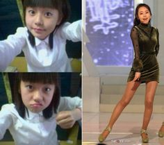 Wonder Girls' Sohee gains attention for her childhood photos