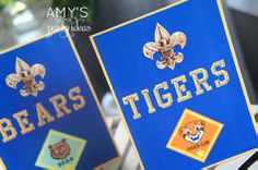Blue & Gold Ceremony {Parties I've Styled}