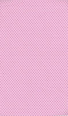 Tecido poá rosa c/marrom