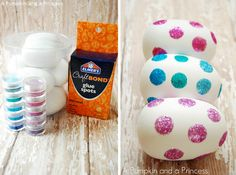 Glittery Easter Eggs | 37 Adorable And Unexpected Easter Egg DIYs