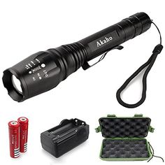 Brightest High Power Handheld Tactical LED Flashlight/Torchlight - Value-for-money high quality Ultra Bright LED Tactical Flashlight with high intensity brightness and range. This is the best flashl...
