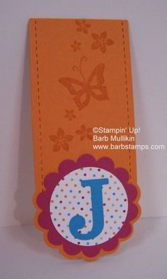 two tags bookmark (outside)
