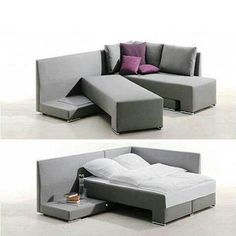 Slidable Sleeping Sofas : Bed Couch