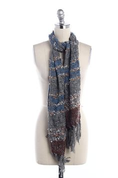 -Weaved Color block Scarf -Fringe edge -Length 68 inches -Width 11 inches tf