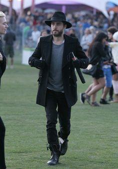 la modella mafia Coachella 2012 fashion Jared Leto