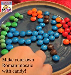 How to make a Roman mosaic out of candy