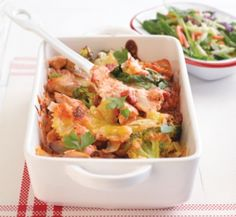 Chicken and broccoli cheesy pasta bake | Healthy Food Guide